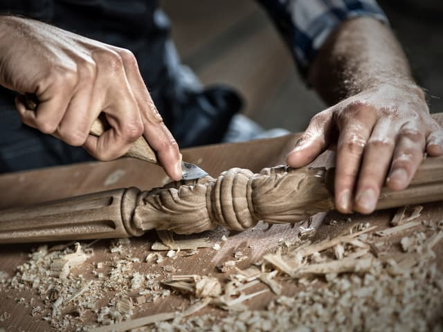 Работете прецизно като дърводелец